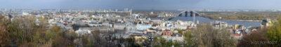 Kijów215-Widoki zCerkwii św.Andrzeja