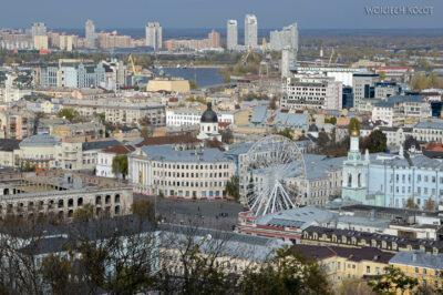 Kijów216-Widoki zCerkwii św.Andrzeja