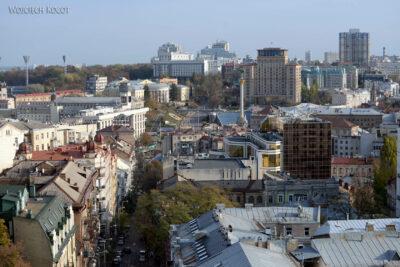 Kijów274-Widok zwieży Soboru MB