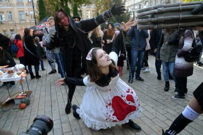 Kijów307-Parada Zombie