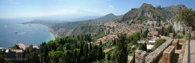 Syb069-Taormina-widok zTeatro Greco