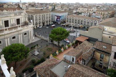 Sye290-Catania-Church of the Badia di Sant'Agata-na wieży