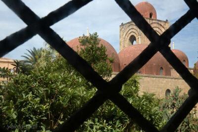 Syi085-Palermo-Kościół Św.Jana-widok zwieży