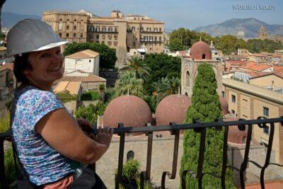 Syi090-Palermo-Kościół Św.Jana-widok zwieży