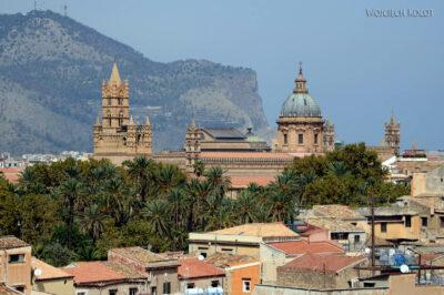 Syi093-Palermo-Kościół Św.Jana-widok zwieży