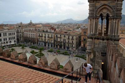 Syi114-Palermo-Katedra-widok zdachu