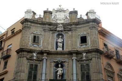 Syi171-Palermo-Skrzyżowanie Quattro Canti-jesień