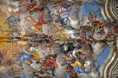 Syi228-Palermo-Kościół Św.Katarzyny-wnętrze