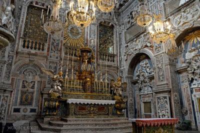 Syi237-Palermo-Kościół Św.Katarzyny-wnętrze