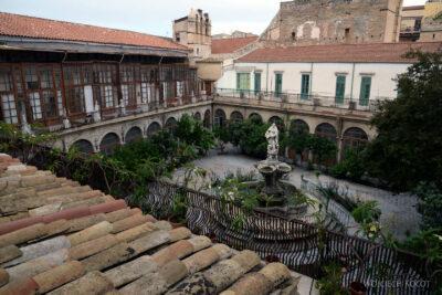 Syi256-Palermo-Kościół Św.Katarzyny-widok zdachu