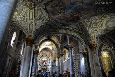 Syi279-Palermo-Kościół Santa Maria dell'Ammiraglio-wnętrze