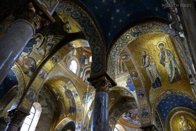 Syi291-Palermo-Kościół Santa Maria dell'Ammiraglio-wnętrze