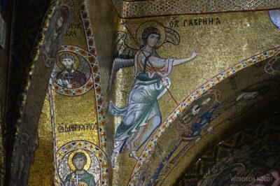 Syi295-Palermo-Kościół Santa Maria dell'Ammiraglio-wnętrze