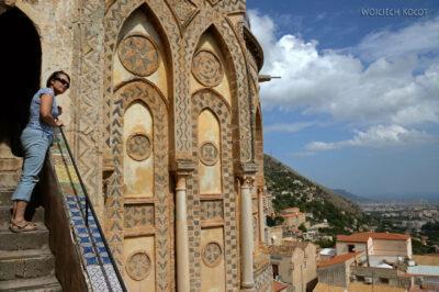 Syj158-Na dachu Katedry wMonreale
