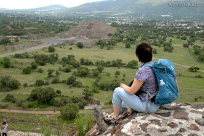 b176-Teotihuacanwidok naPiramide de Luna