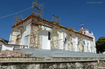 e049-remont katedry wSan Lorenzo Zinacantan