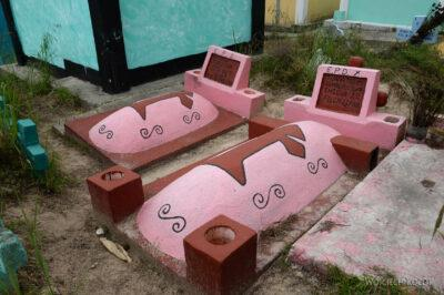 h076-Chichicastenango-na cmentarzu