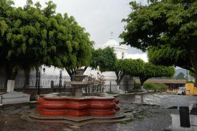 i173-Antigua-stara część miasta blisko wulkanu Agua