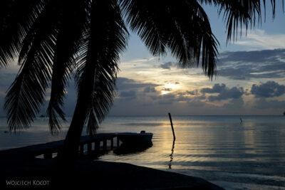 t228-Caye Caulker - plaża hotelowa
