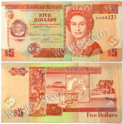 t323-Banknoty Belize