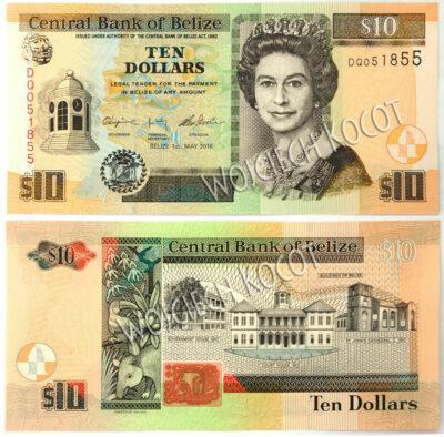 t324-Banknoty Belize