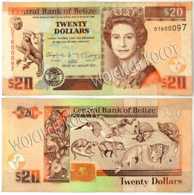t325-Banknoty Belize