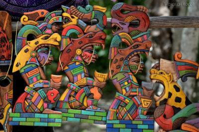 w050-Chichen Itza-kram zpamiątkami