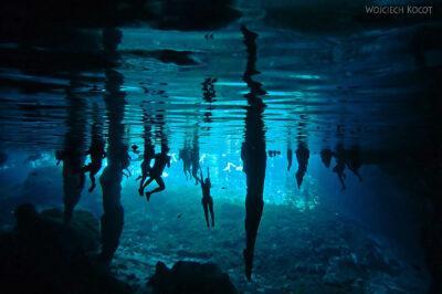 x130-W Gran Cenote - podwodą