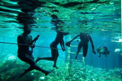x131-W Gran Cenote - podwodą