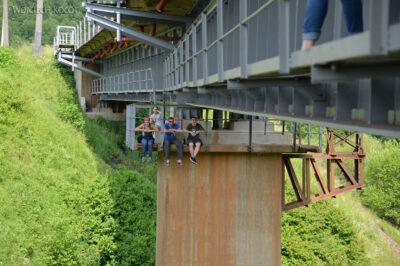 Uk235-Mosty kolejowe koło Wołowca