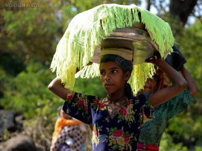 Et03021-Okolice wodospadu Blue Nile-ludzie