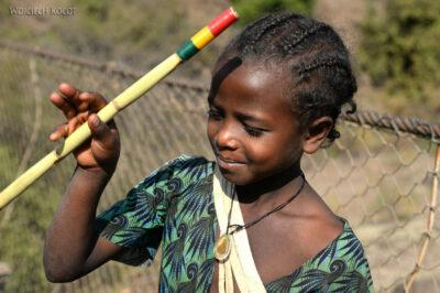 Et03083-Okolice wodospadu Blue Nile-ludzie