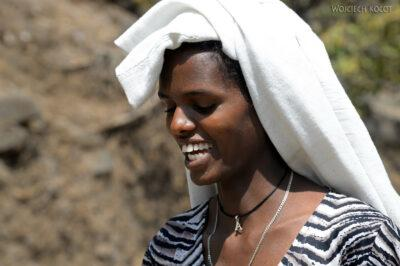 Et03088-Okolice wodospadu Blue Nile-ludzie
