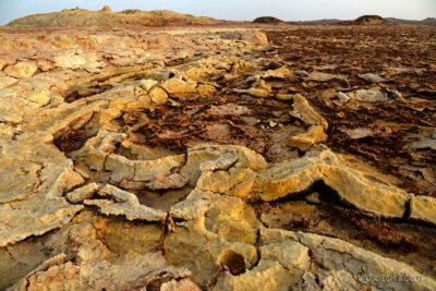 Et14052-Danakil 4-na polu siarkowym Dallol