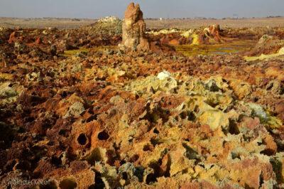 Et14186-Danakil 4-na polu siarkowym Dallol
