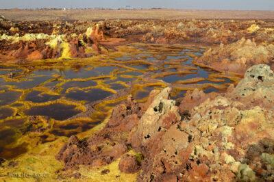 Et14188-Danakil 4-na polu siarkowym Dallol