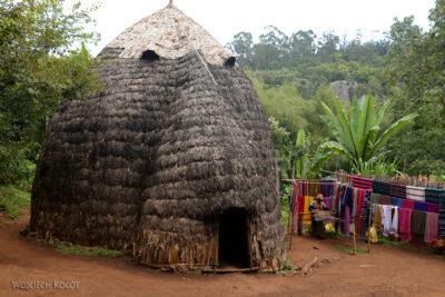 Et21061-W wiosce Dorze-domy