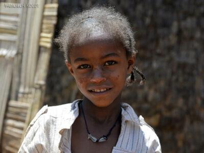 Et21154-W wiosce Dorze-dzieci