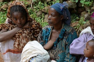 Et21158-W wiosce Dorze-ludzie