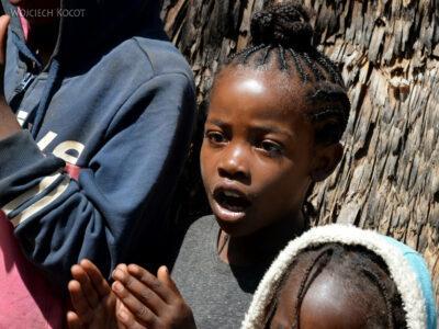 Et21164-W wiosce Dorze-dzieci