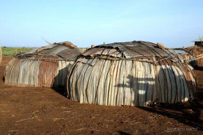 Et23016-Wioska Omorate plemienia Dasenech-domy