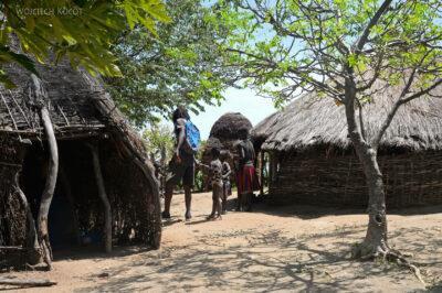 Et23182-Wioska plemioenia Tsmai-domy