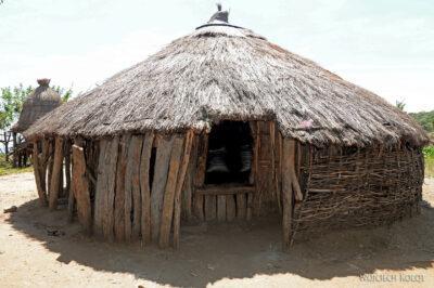 Et23185-Wioska plemioenia Tsmai-domy