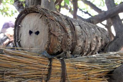 Et23216-Wioska plemioenia Tsmai-ule na drzewach