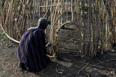 Et24081-Korokoro-Wioska plemienia Mursi-domy