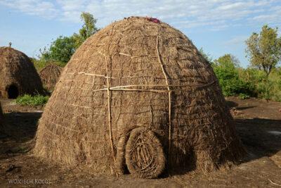 Et24097-Korokoro-Wioska plemienia Mursi-domy