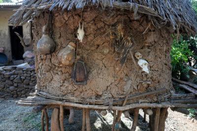 Et24221-W wiosce Gamole plemienia Konso