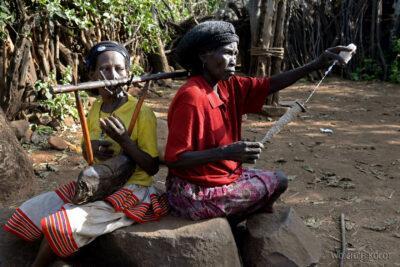 Et24225-W wiosce Gamole plemienia Konso