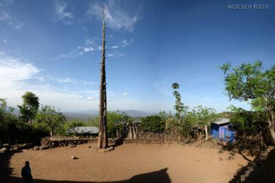 Et24247-W wiosce Gamole plemienia Konso