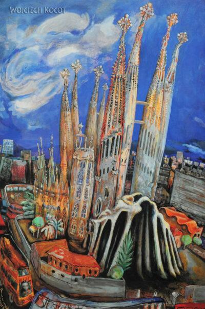 Basz001-La Sagrada Familia-w oczach artysty